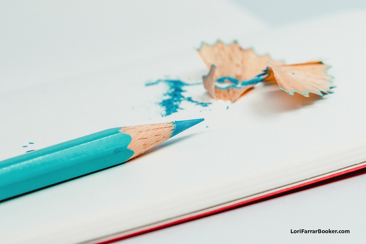 turquoise pencil